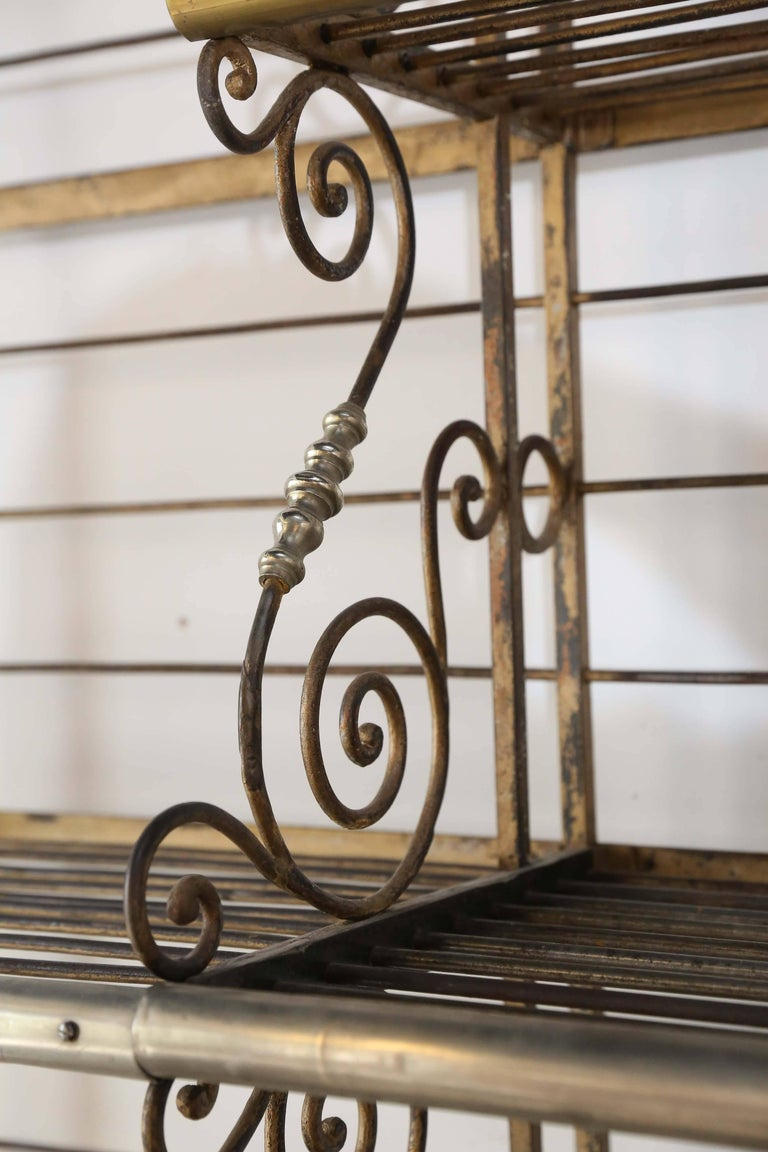 Antique French Bakers Rack For Sale 3