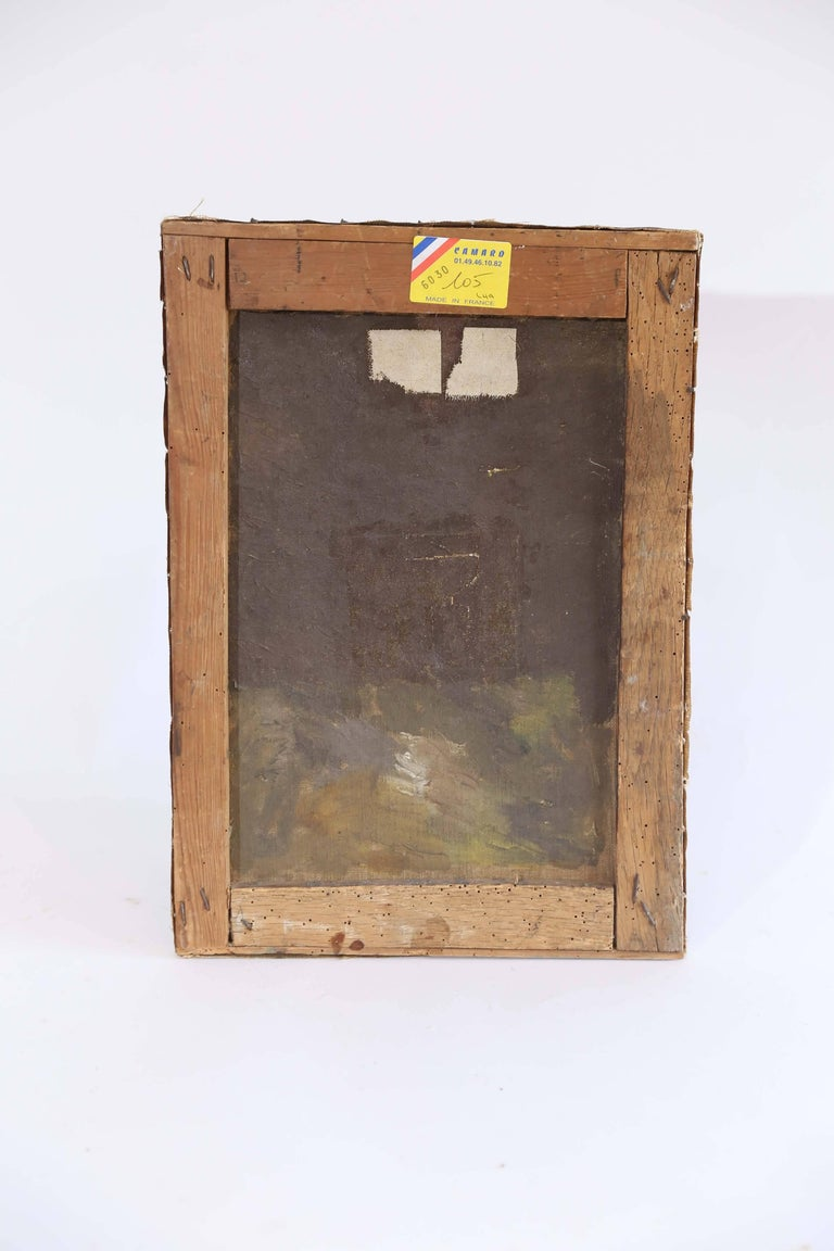French Oil Painting on Canvas, circa 1833 For Sale 2