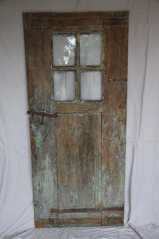 Antique Door With Original Glass For Sale At 1stdibs