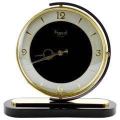 French Art Deco Swivelling Clock by Bayard, 1930s