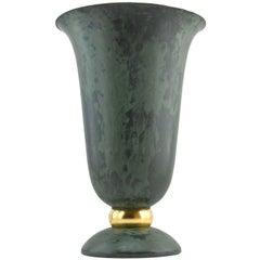 French Art Deco Cornet Lamp, 1930