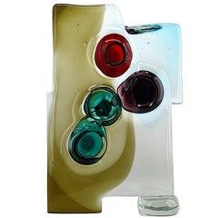Alfredo Barbini Vulcano Glass Sculpture, 1957, Murano