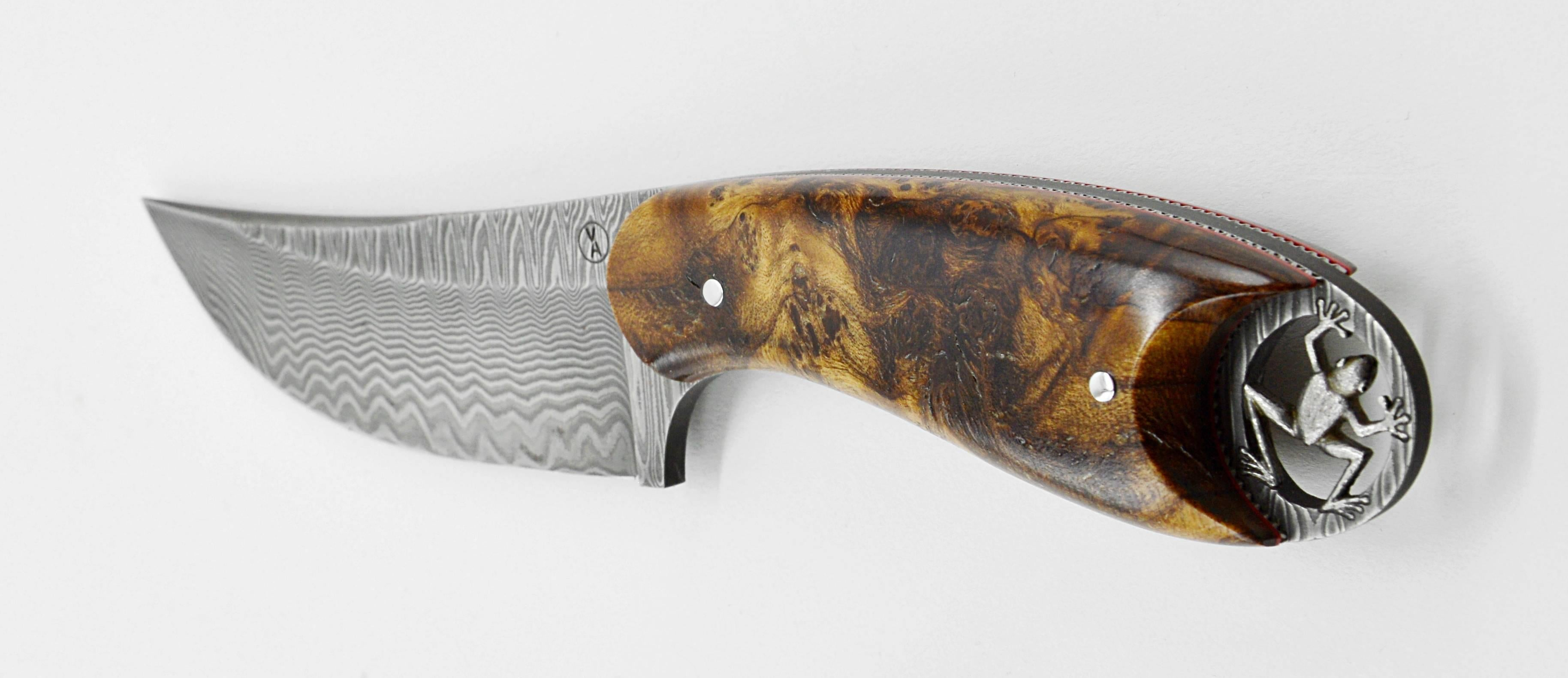 forge lucas customers tang full about ron pictures knives jaguar the custom w hunting collection