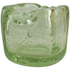 Schneider Vintage Glass Vase, 1949-1950