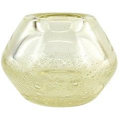 Schneider French Art Deco Glass Vase, 1949-1950
