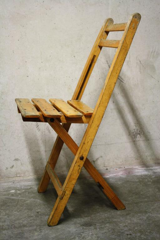 Vintage Wooden Bistro Chairs At 1stdibs