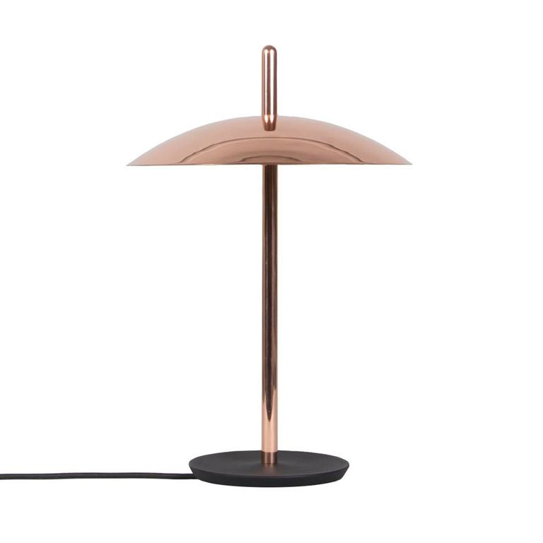 Signal table lamp from souda modern copper led table for Modern led table lamps