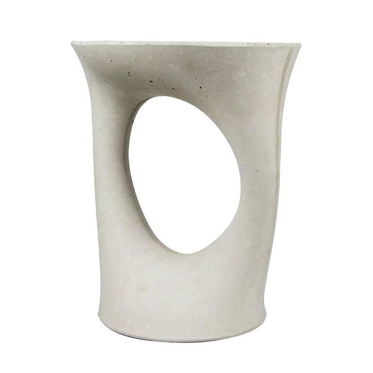 Grey short kreten side table from souda modern concrete for Short end table