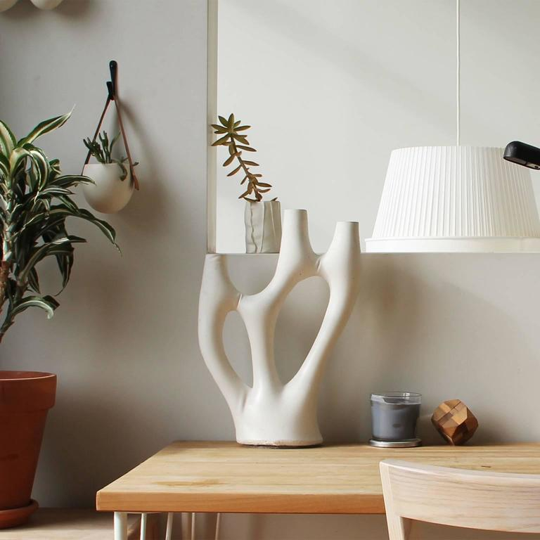 Modern Kreten Candelabra from Souda, Charcoal, Made to Order For Sale