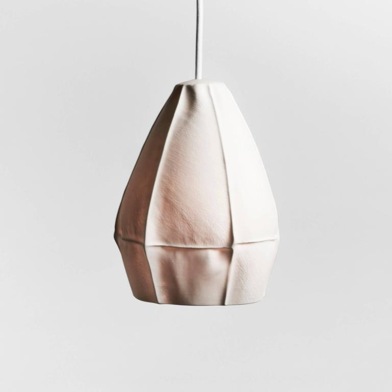 Cast Kawa Pendant Cluster from Souda, Twelve Porcelain Diffusers, Made to Order For Sale