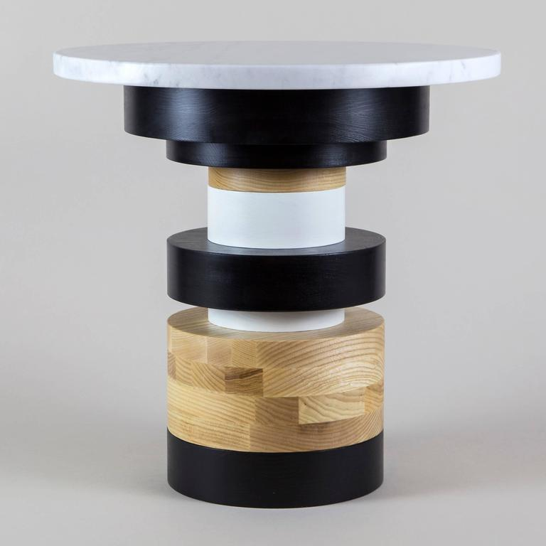 Modern Customizable Sass Side Tables from Souda, Set of Three, Made to Order For Sale