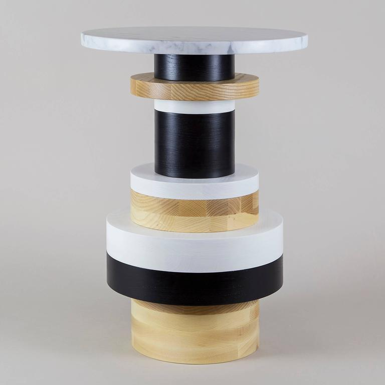 Customizable Sass Side Tables from Souda, Set of Three, Made to Order In New Condition For Sale In Brooklyn, NY