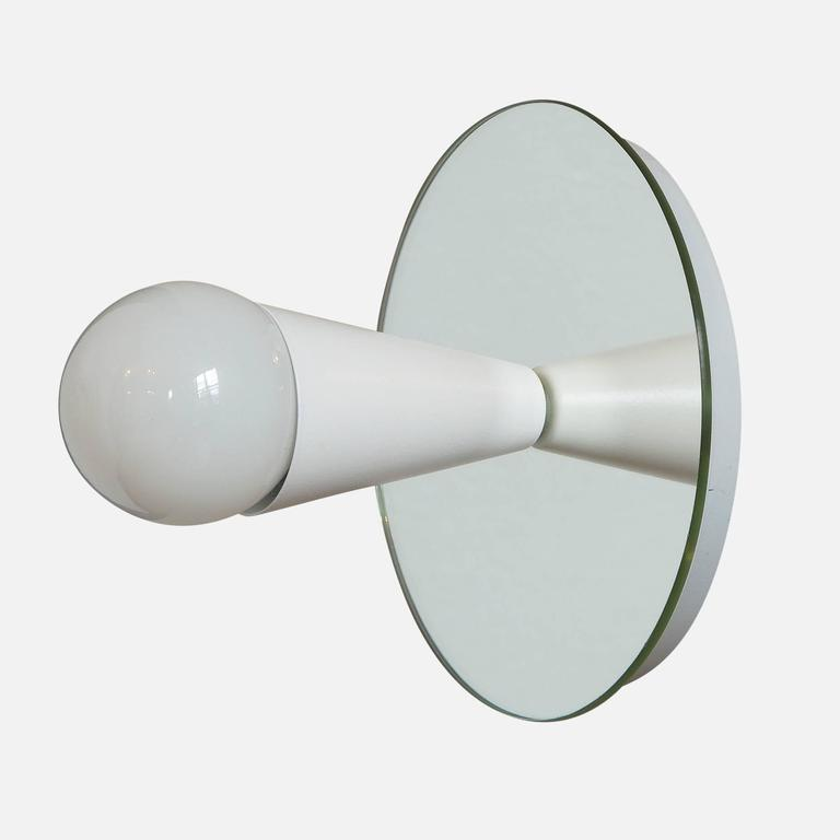American Echo One Sconce/Flush Mount in White, from Souda, Made to Order For Sale