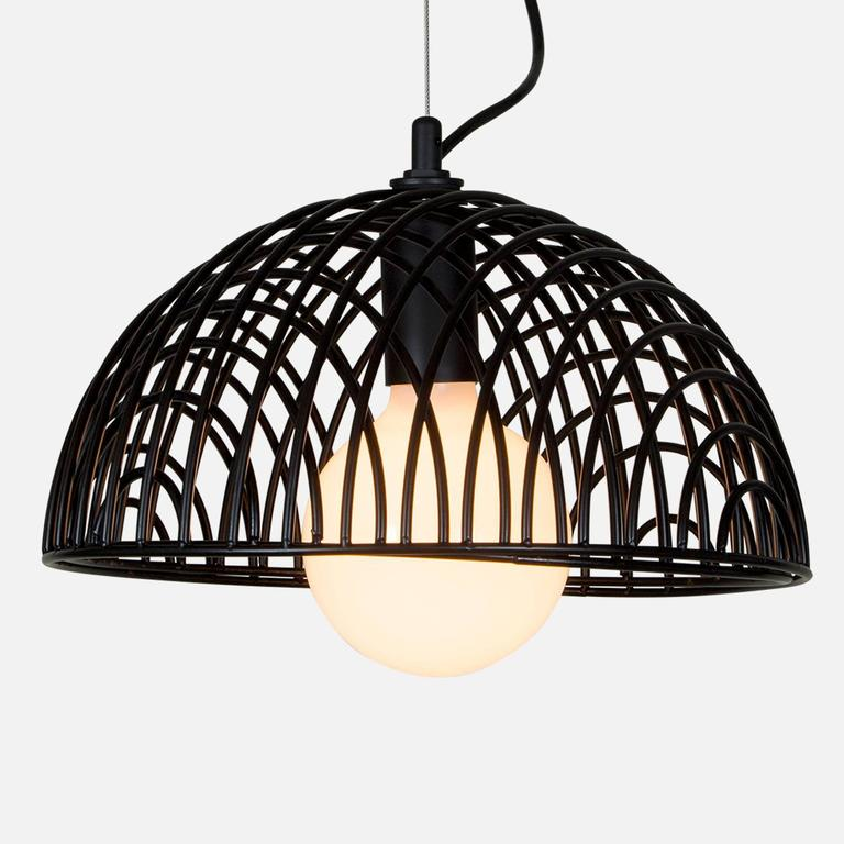 American Dana Pendant Light, Black from Souda, Made to Order For Sale