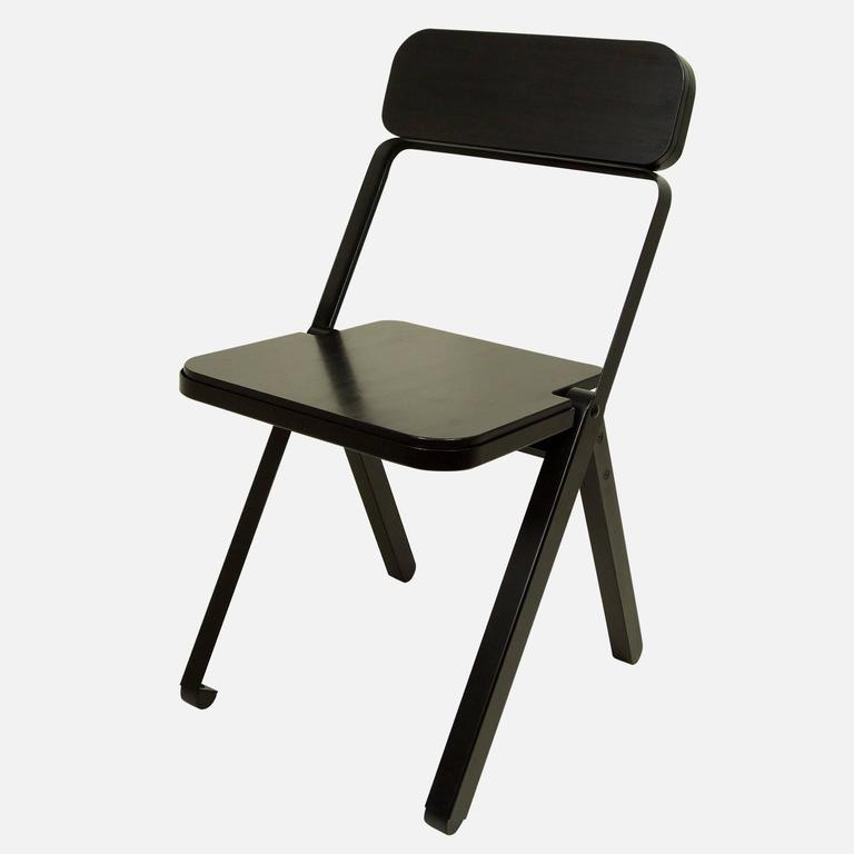 Price includes four chairs. While folding chairs are not often the recipient of product lust, Calen Knauf and Conrad Brown have managed to design a folding chair that's far too beautiful to store in a closet. The profile chair is minimal, visually