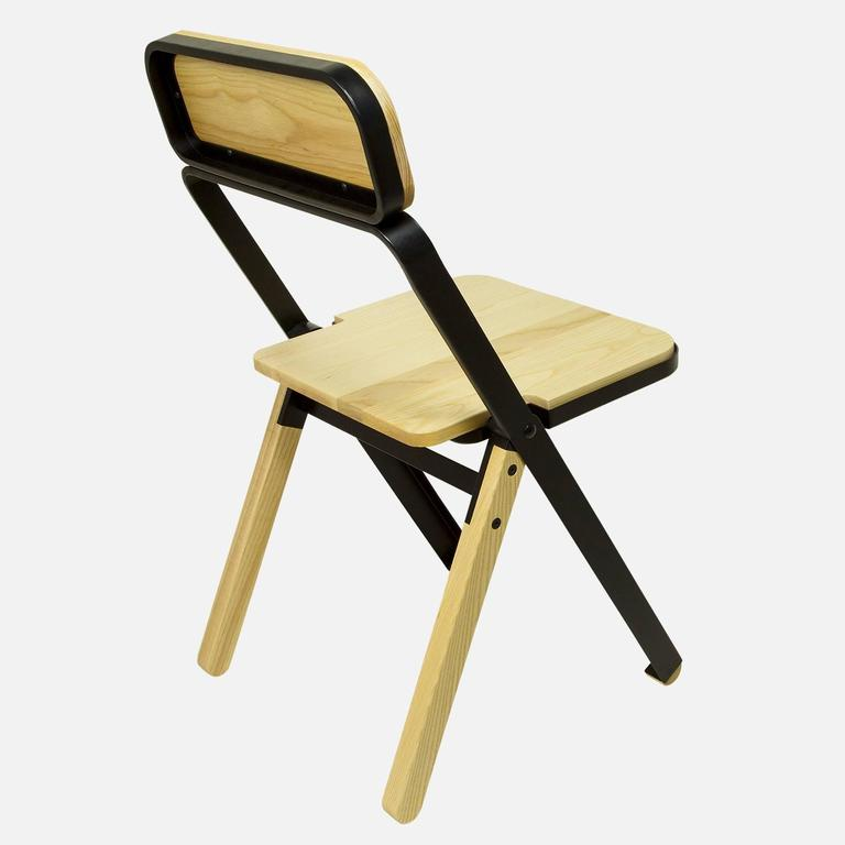 Price includes two chairs. While folding chairs are not often the recipient of product lust, Calen Knauf and Conrad Brown have managed to design a folding chair that's far too beautiful to store in a closet. The Profile chair is minimal, visually