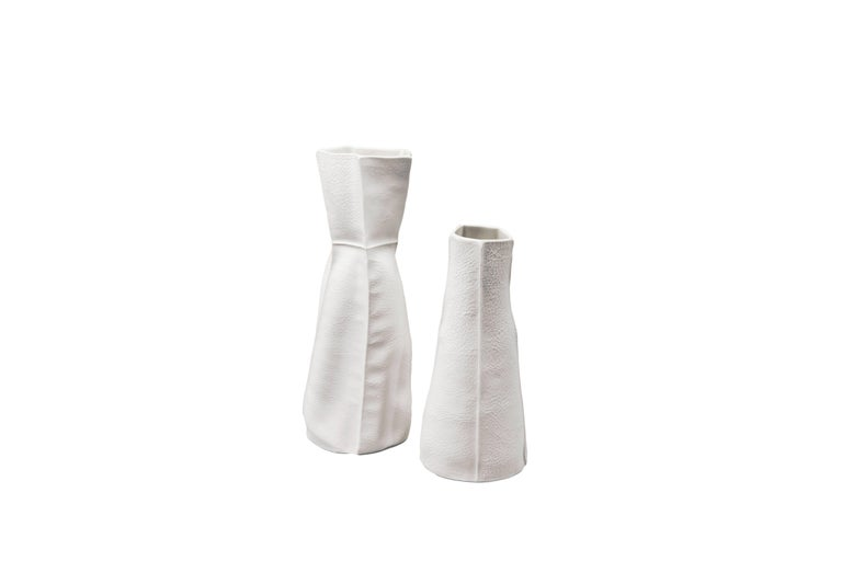 Modern Kawa Vase by Luft Tanaka, Made to Order For Sale