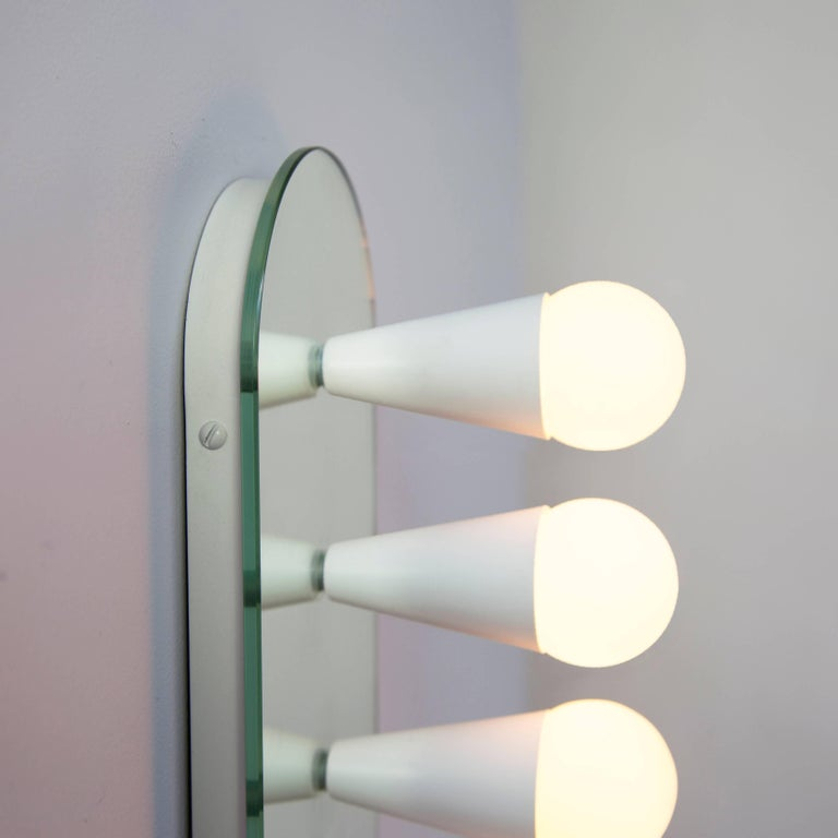 Contemporary Echo Six-Sconce / Flush Mount in White, from Souda For Sale