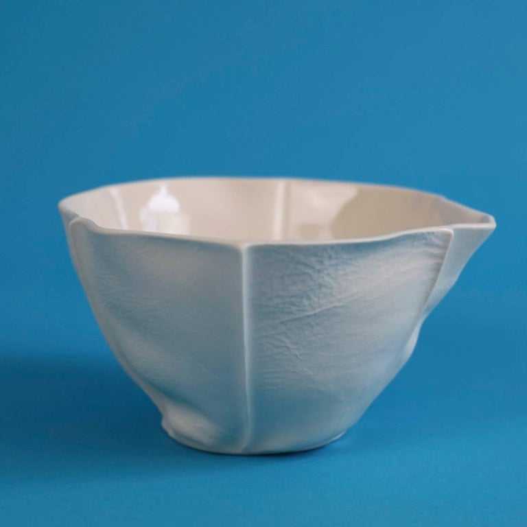 American Small Kawa Bowl by Luft Tanaka, in Stock For Sale