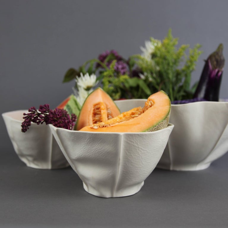 Small Kawa Bowl by Luft Tanaka, in Stock In New Condition For Sale In Brooklyn, NY