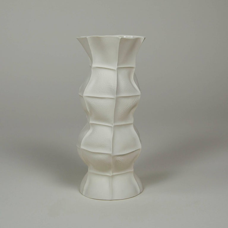 American Set of Five Kawa Vases by Luft Tanaka, in Stock For Sale