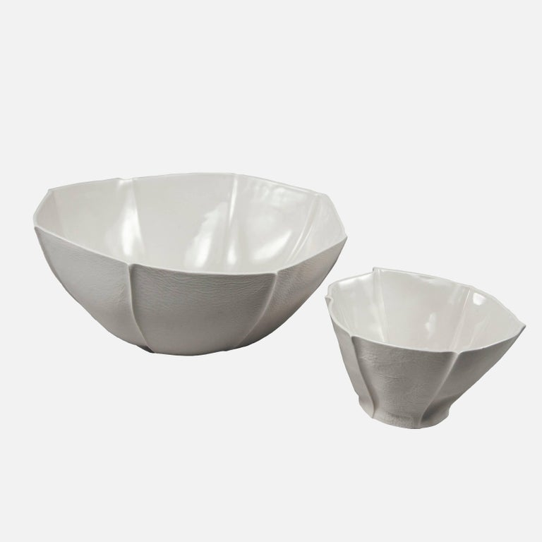 Modern Medium Kawa Bowl by Luft Tanaka, in Stock For Sale