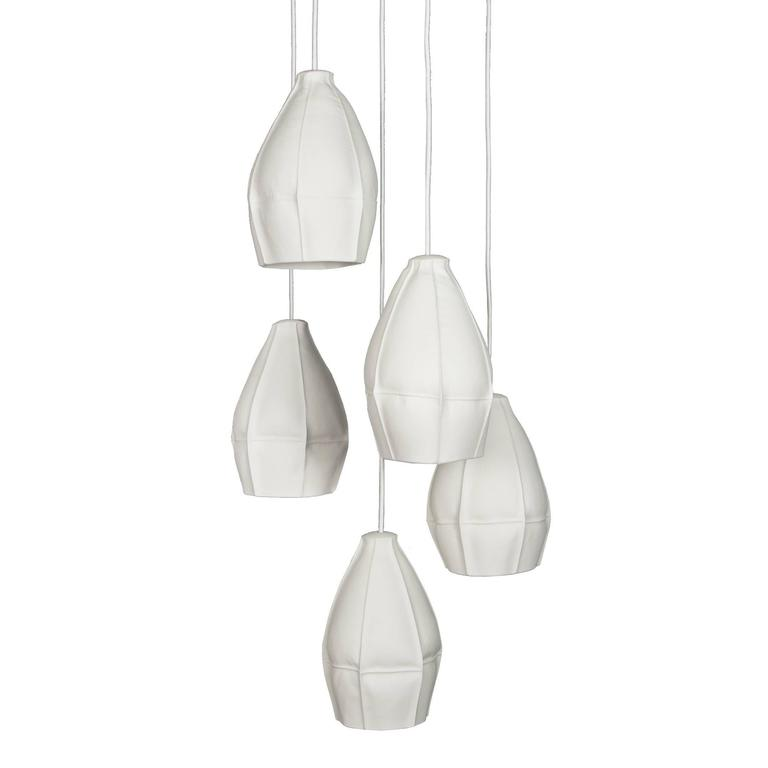 Kawa Pendants from Souda, Cluster of Five, Made to Order For Sale