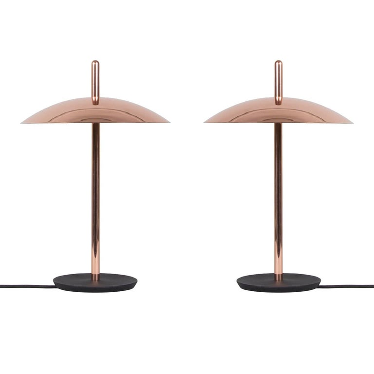 Customizable Pair of Signal Table Lamp from Souda, Made to Order For Sale
