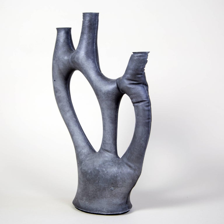 Uninque Kreten Candelabra from Souda, Charcoal, in Stock 3