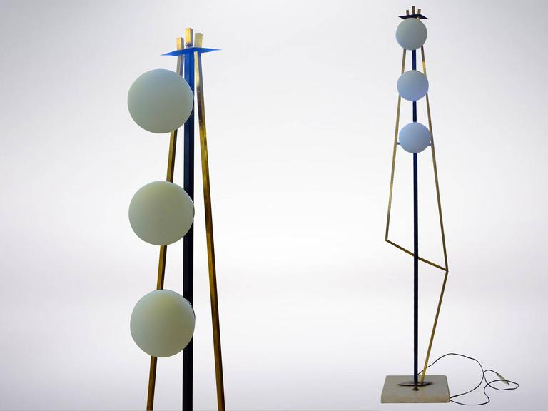 Geometric Stilnovo Floor Lamp For Sale at 1stdibs