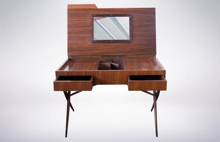 Italian Ornate Dresser designed by Ico & Luisa Parisi for Altamira, 1942 For Sale