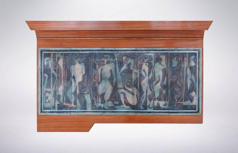 Ornate Dresser designed by Ico & Luisa Parisi for Altamira, 1942 For Sale 1