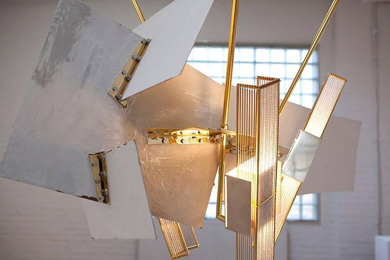 Monumental Chandelier 'Satellite' by Gareth Devonald Smith 7
