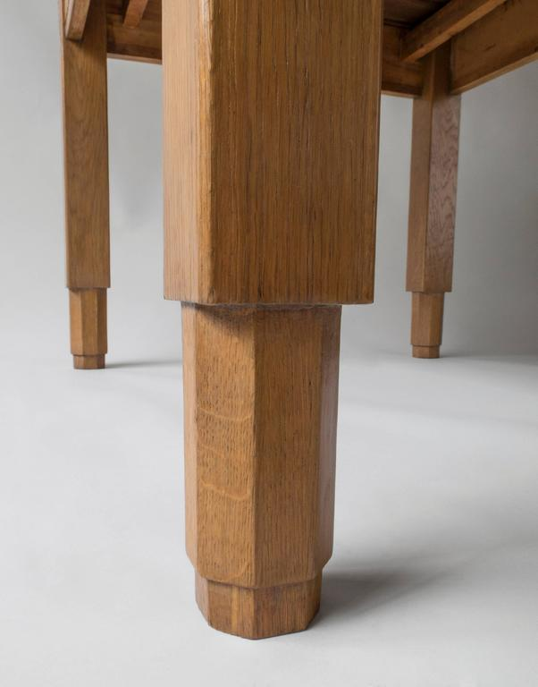 Finnish Carved Oak Jugend Expandable Dining or Center  : FinnishDiningTable6l from www.1stdibs.com size 602 x 768 jpeg 30kB