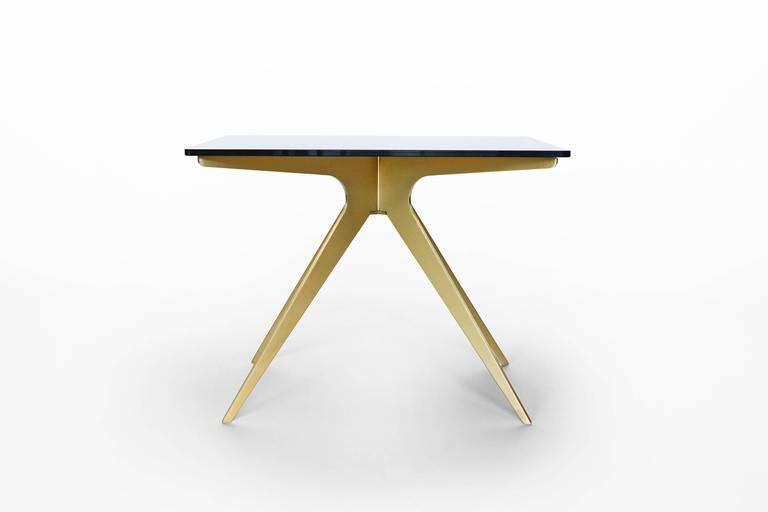 Modern Dean Rectangular Side Table For Sale