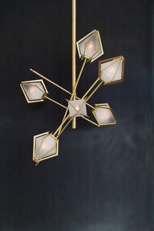 Canadian Harlow Small Chandelier For Sale