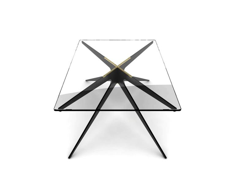 Canadian DEAN Regular Coffee Table in Customizable Finishes For Sale