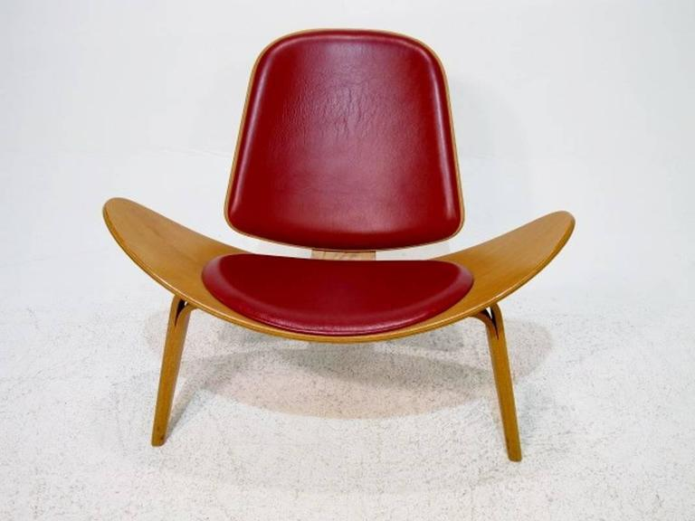Shell Chair CH07 By Hans J Wegner For Carl Hansen And S N For Sale At 1stdibs