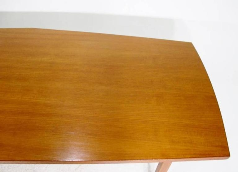 Danish Conference Table or Dining Table from the 1960s Made in Teak For Sale 1