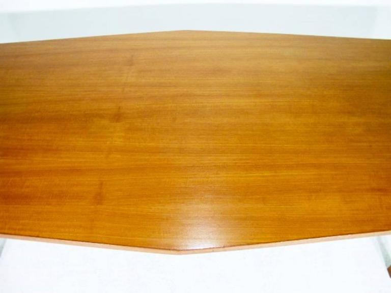 20th Century Danish Conference Table or Dining Table from the 1960s Made in Teak For Sale