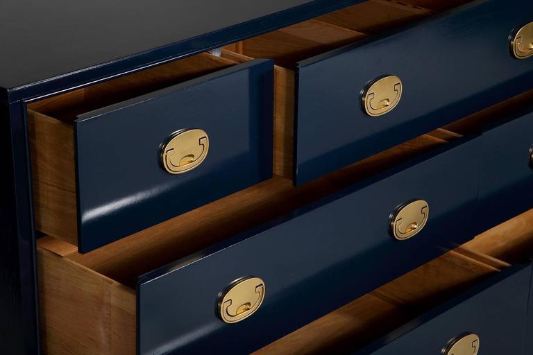 Hickory Navy Campaign Dresser 8