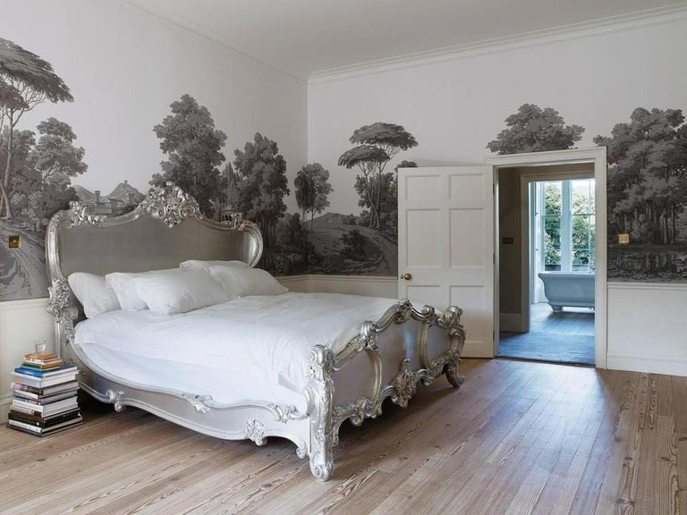 The Cherub Bed Hand Crafted In The Rococo Style Made By La Maison London For Sale 1