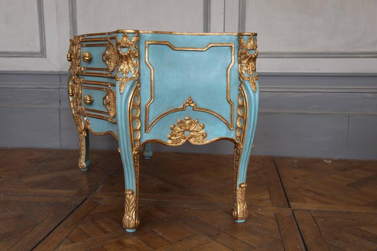 italian baroque style giltwood commode reproduced by la maison london at 1stdibs. Black Bedroom Furniture Sets. Home Design Ideas