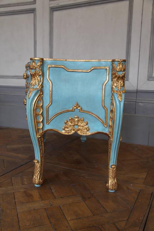 Italian baroque style giltwood commode reproduced by la maison london at 1stdibs - Maison style baroque ...
