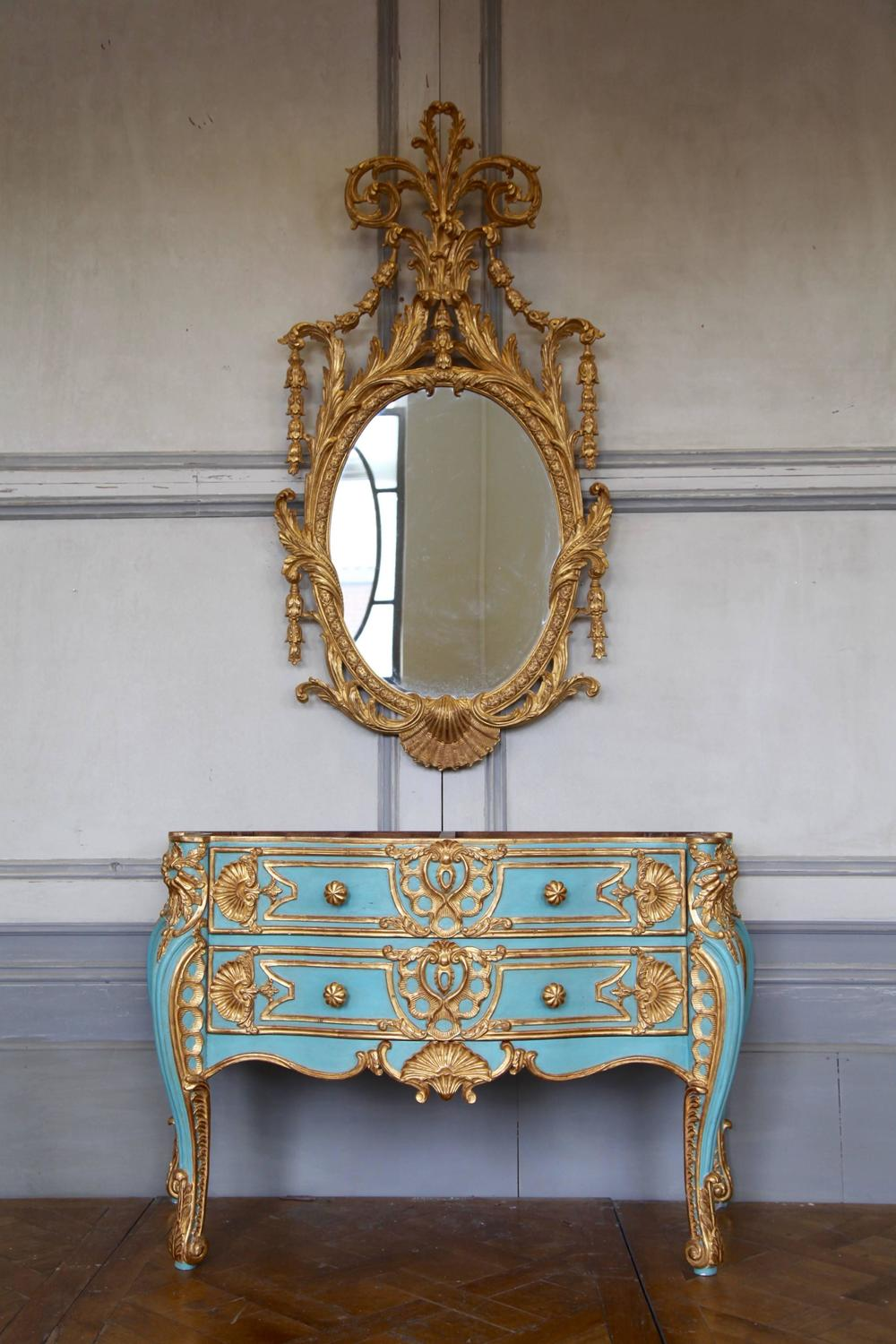 Commode style baroque maison design for Maison style baroque
