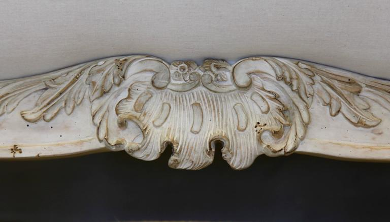 Hand-Carved Venetian Style Armchair For Sale