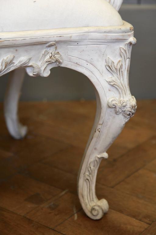 Contemporary Venetian Style Armchair For Sale
