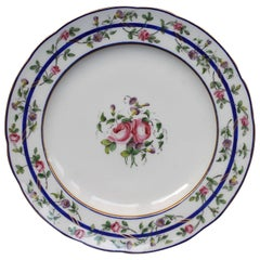 Sevres Porcelain Continuation of 12 Plates, 18th Century
