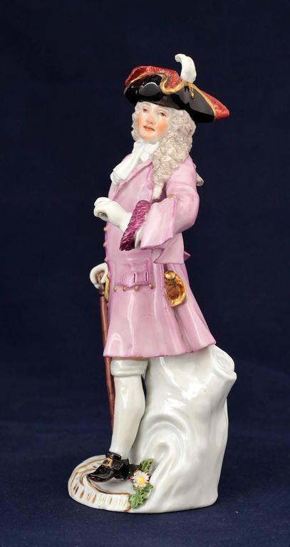 Meissen Porcelain Figure of the Squire of Alsatia, circa 1754 3