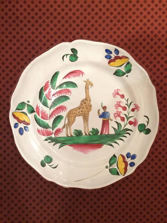 Giraffe Glass Dish